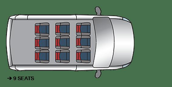 Red Kite Vauxhall Vivaro Seating