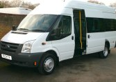 Ford 17 Seat minibus owned by Red Kite from new VGC