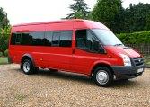 Ford Transit 17 Seat Minibus Red kite Used minibuses 01202827678