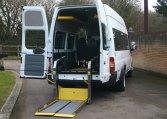 Ford Transit Accessible minibus redkite-minibuses.com tel 01202 827678