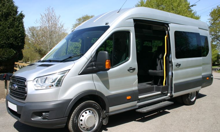 Nearly New Ford Transit 17 Seat Minibus For Sale