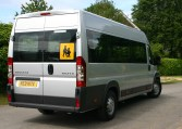 Wheelchair Accessible Peugeot Boxer Minibus 2012 model, Red Kite-minibuses.com