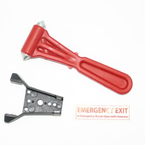 Emergency Break Glass Hammer Red Kite Minibus Sales Tel 01202 827678