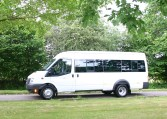 White Transit Minibus 17 Seater From Red Kite the UK's leading school minibus supplier