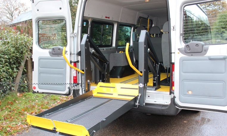 Wheelchair accessible minibus for care home