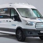 New Ford Electric Transit Minibus