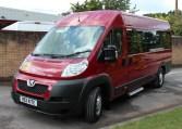 Fully refurbished minibus
