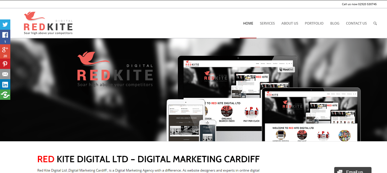 ecommerce web design cardiff example