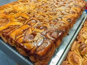Knaus Berry Farm Bakery's famous Sticky Cinnamon Buns
