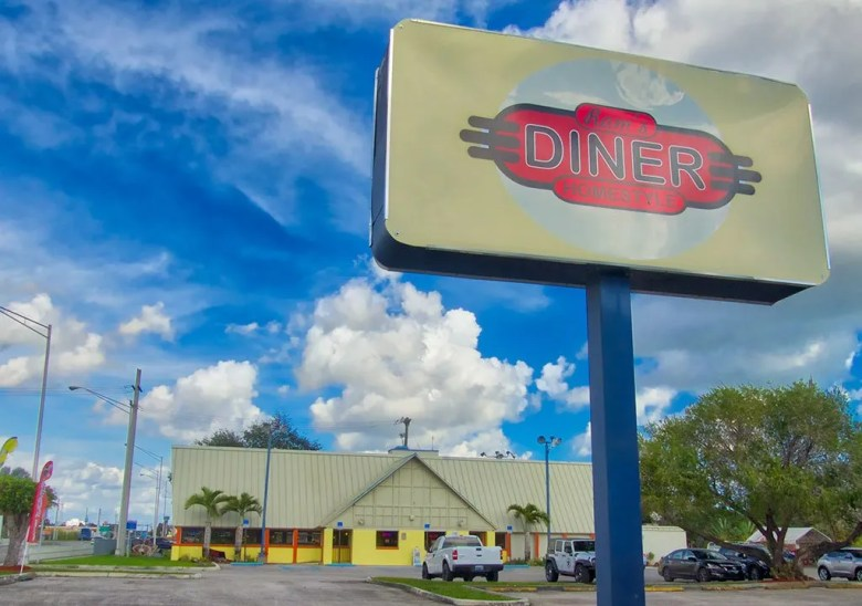 Ram's HomeStyle Diner in Naranja is a favorite among locals.