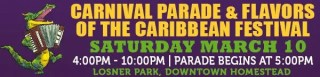 Homestead Mainstreet - Carnival Parade and Flavors of the Caribbean Festival