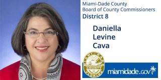 Daniella Leving Cava, Miami-Dade County Board of County Commissioners - District 8