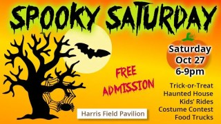 Spooky Saturday at Harris Field Pavilion