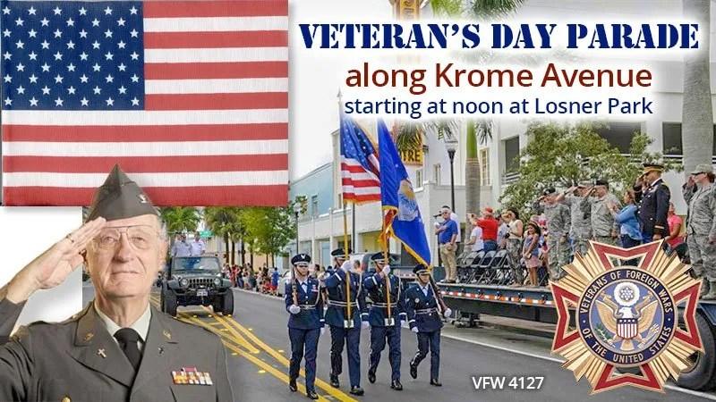 Veteran's Day Parade in Homestead