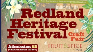 Redland Heritage Festival and Craft Fair at Fruit & Spice Park