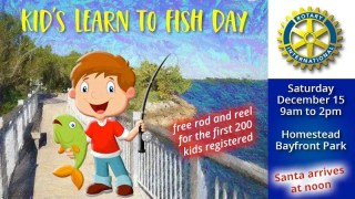 Rotary of Homestead - Kids Learn To Fish Day
