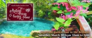 Redland Private Garden Tour