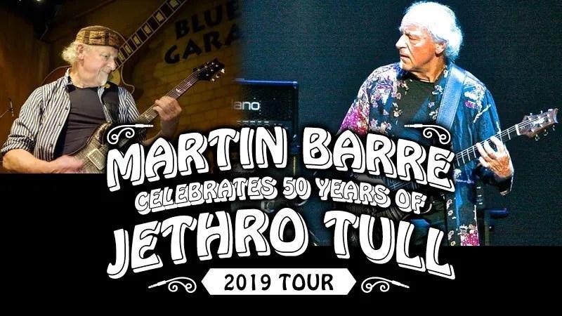 Martin Barre celebrates 50 Years of Jethro Tull at Seminole Theatre