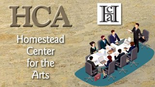 Homestead Center For The Arts Board Meeting