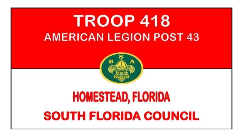 Boy Scout Troop 418