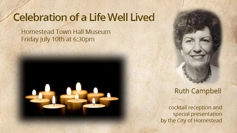 Ruth Campbell Celebration of Life