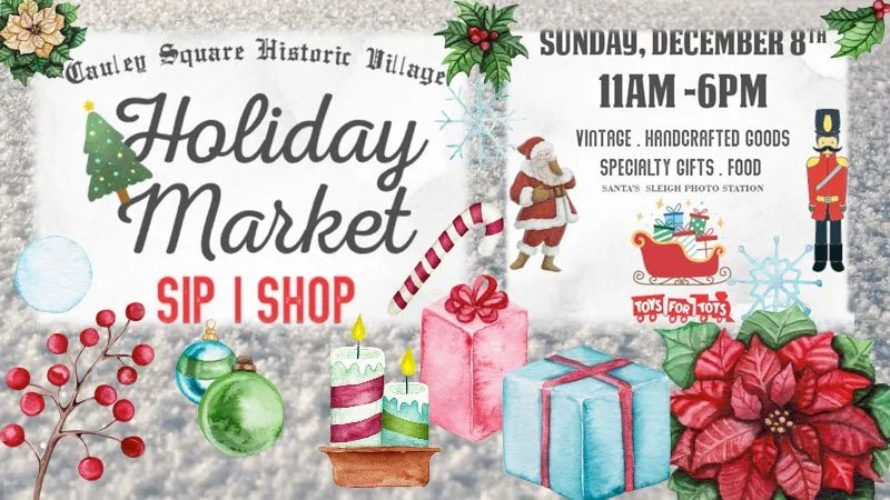 Cauley Square's Holiday Market