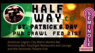 Halfway to St Patrick's Day Pub Crawl