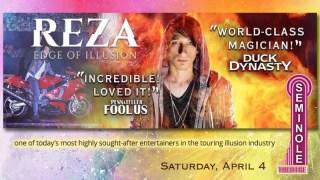 Reza Edge of Illusion