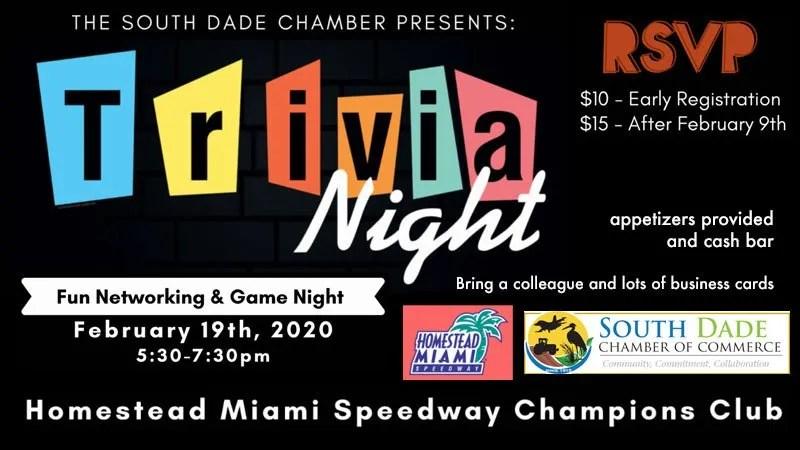 Chamber Trivia Night at Champions Club