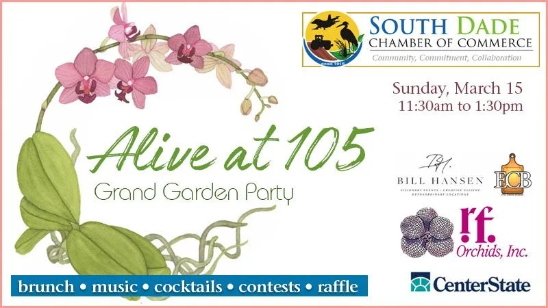 Alive At 105 - Grand Garden Party