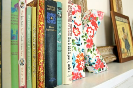 Colorful Mantle Display   redleafstyle.com