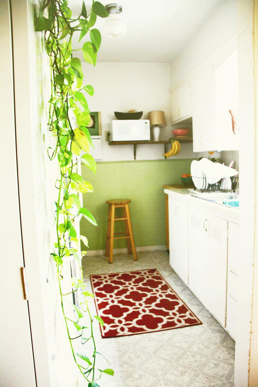 Vintage kitchen | redleafstyle.com