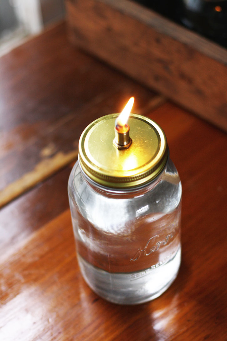This Mason Jar Oil Lamp Is Such A Fun Twist On A Traditional Candle. Even  Though The Label On The Oil Says Itu0027s For Indoor And Outdoor Use, ...
