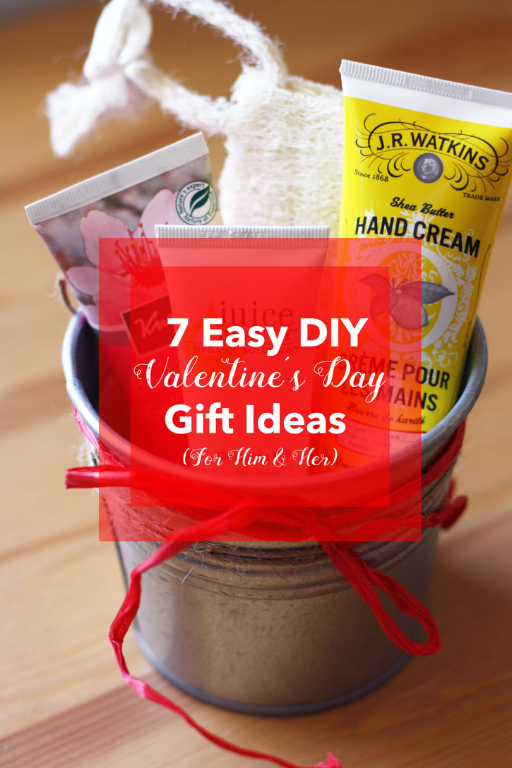 7 Easy DIY Valentineu0027s Day Gift Ideas (For Him U0026 Her) | Redleafstyle.