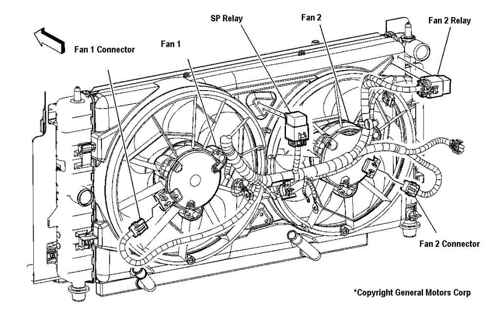 medium resolution of chrysler cooling fan relay wiring diagram