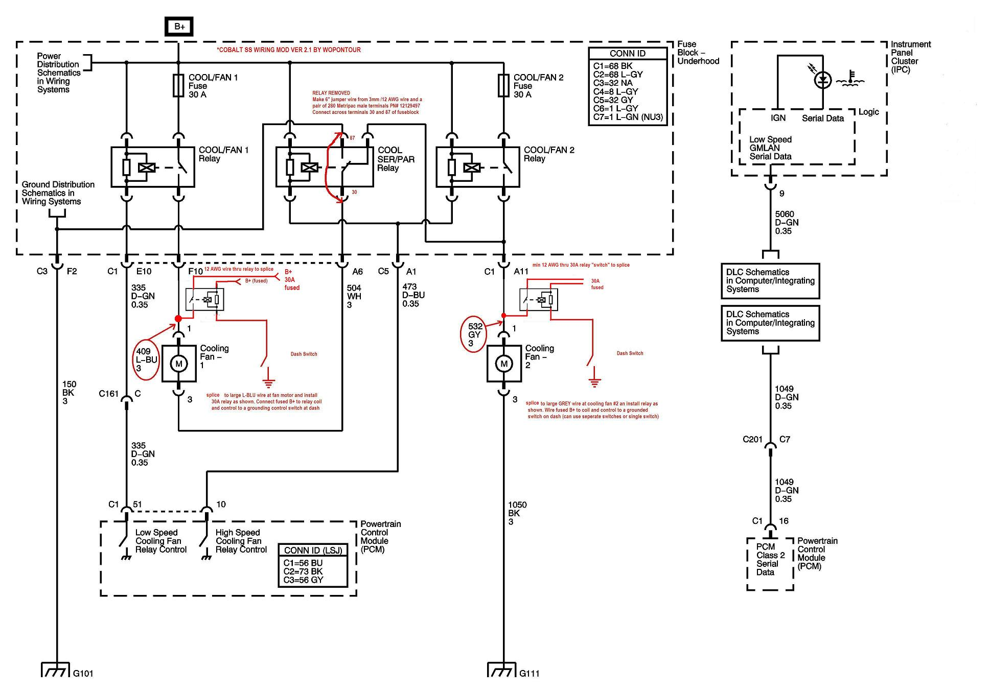 hight resolution of how to wire the fan to a switch page 4 saturn ion redline forumsclick image