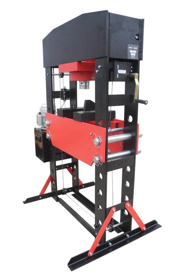 Redline 100 Ton Electric Hydraulic Press - Free Shipping