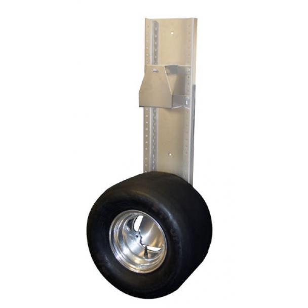 pit pal dual mount jr dragster trailer tire rack