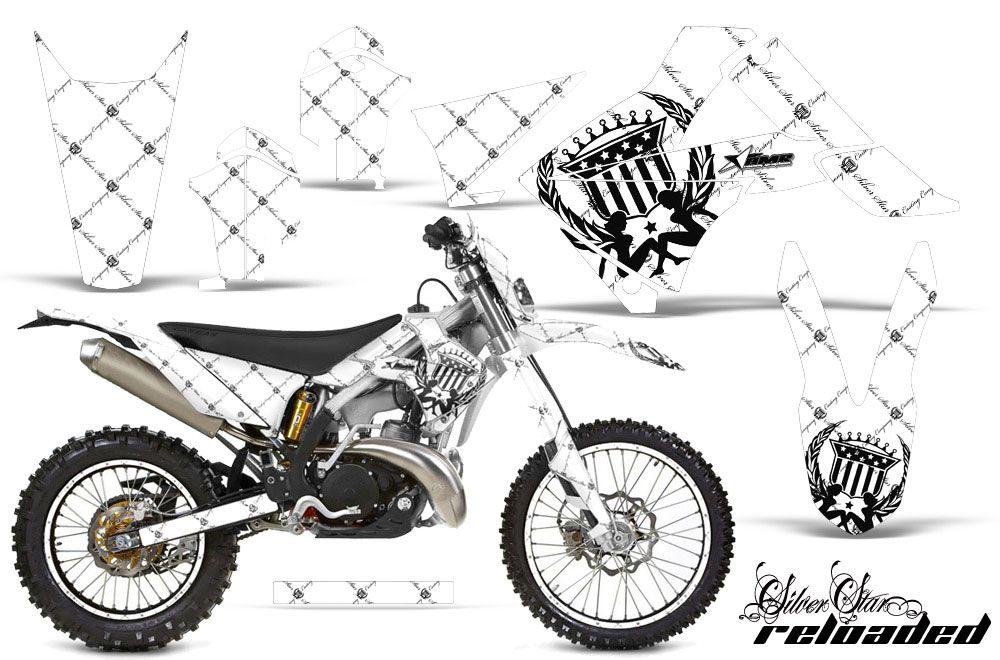 Gas Gas EC 300 Dirt Bike Graphics: Silver Star Reloaded