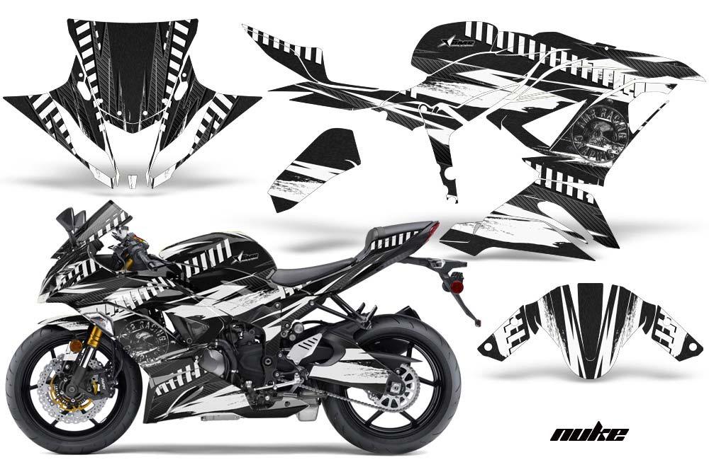 Kawasaki ZX-6R 636 Ninja Street Bike Graphics: Nuke