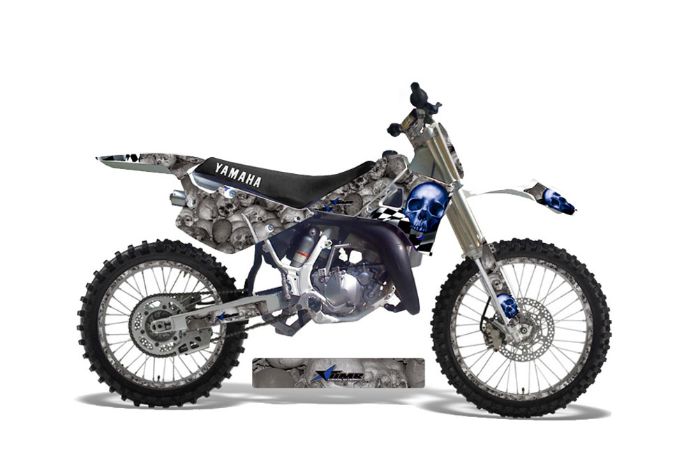 Yamaha YZ250 2 Stroke Dirt Bike Graphics: Contender