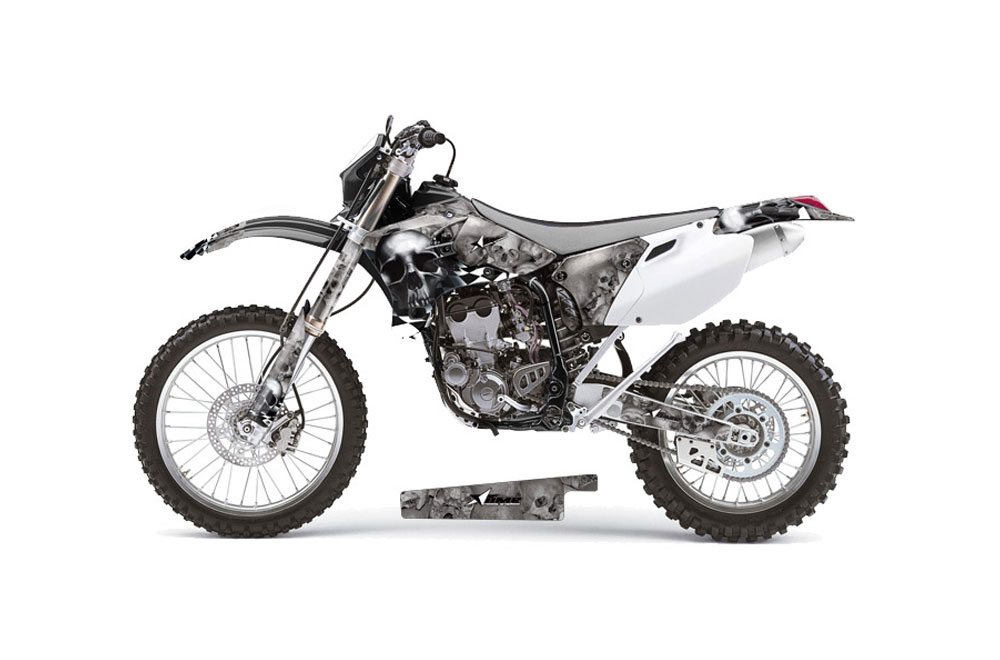 Yamaha YZ450 F 4 Stroke Dirt Bike Graphics: Checkered