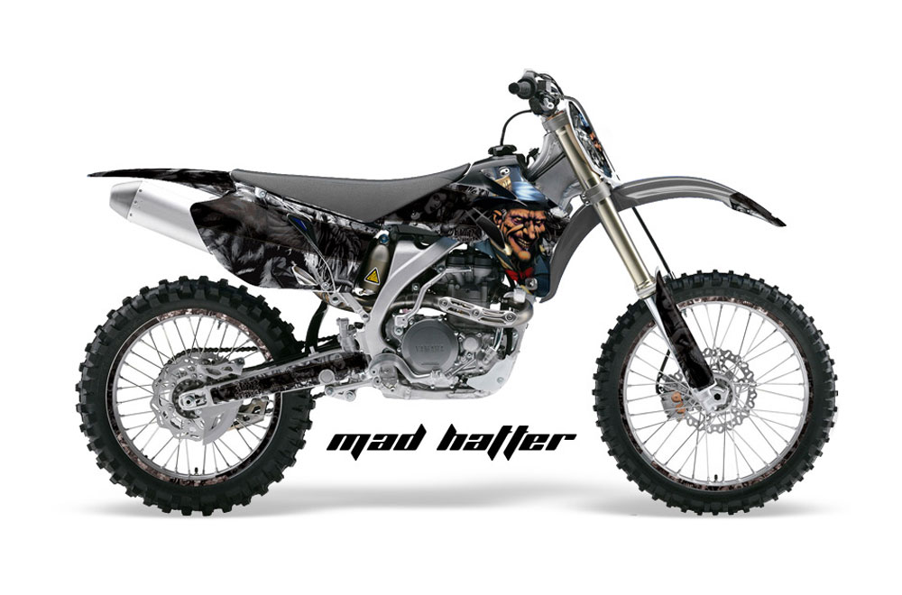 Yamaha YZ250 F 4 Stroke Dirt Bike GraphicsMad Hatter