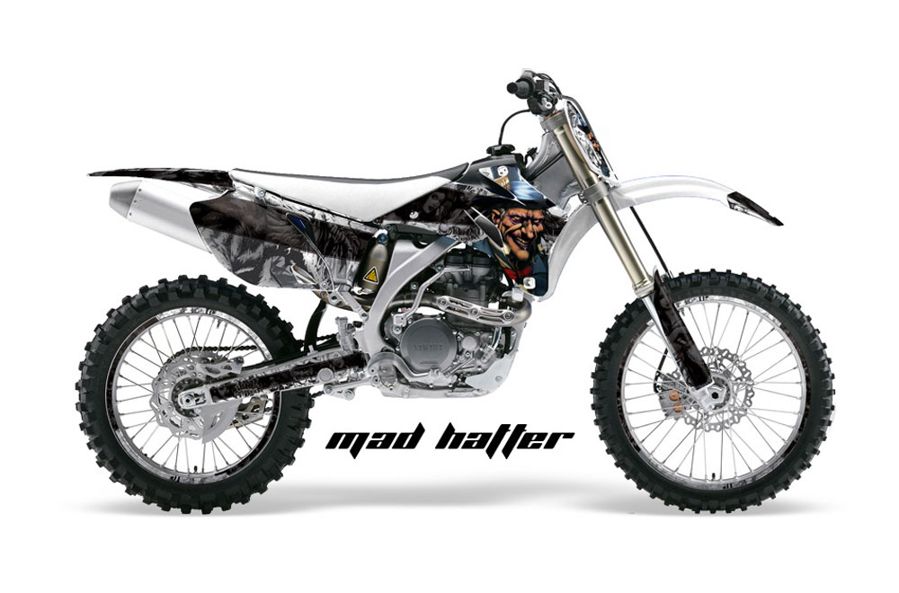 Yamaha YZ450 F 4 Stroke Dirt Bike GraphicsMad Hatter