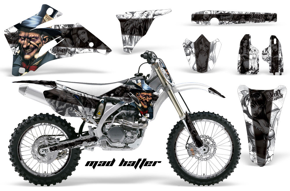 Yamaha YZ450 F 4 Stroke Dirt Bike GraphicsMad Hatter