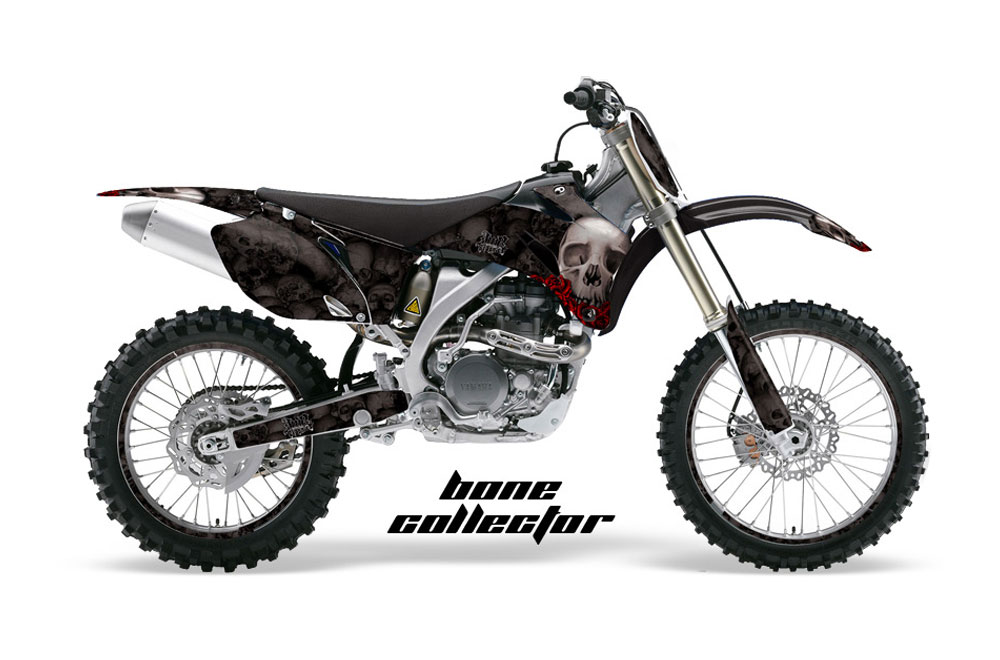 Yamaha YZ250 F 4 Stroke Dirt Bike Graphics: Bone Collector