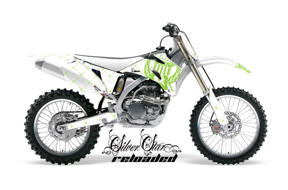 Yamaha YZ450 F 4 Stroke Dirt Bike GraphicsSilver Star