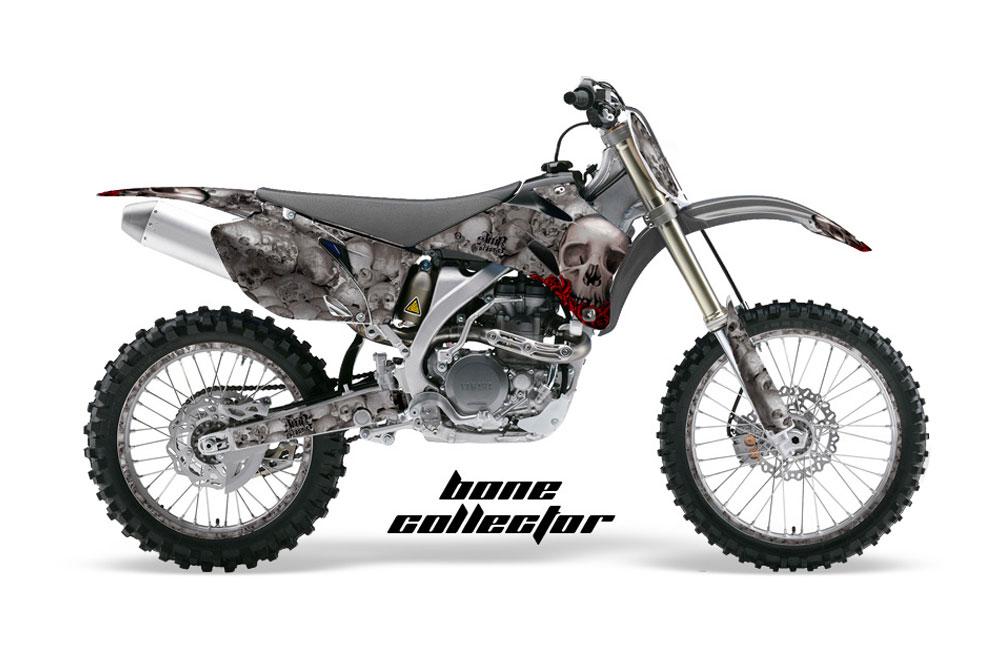 Yamaha YZ250 F 4 Stroke Dirt Bike Graphics: Bone Collector