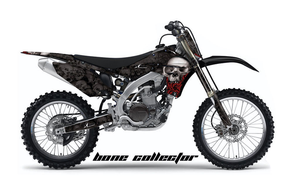 Yamaha YZ450 F 4 Stroke Dirt Bike GraphicsBone Collector