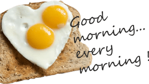 great breakfasts and snacks